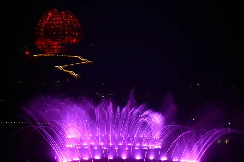 青岛世园会音乐喷泉