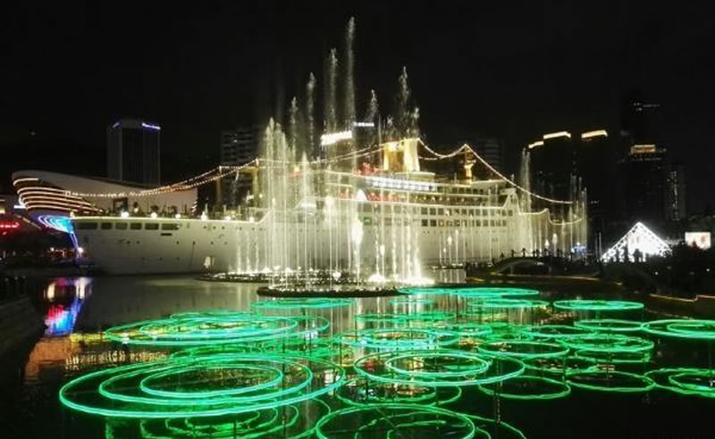 海上世界音乐喷泉