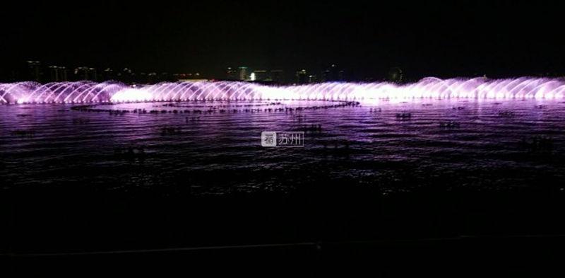 金鸡湖音乐喷泉