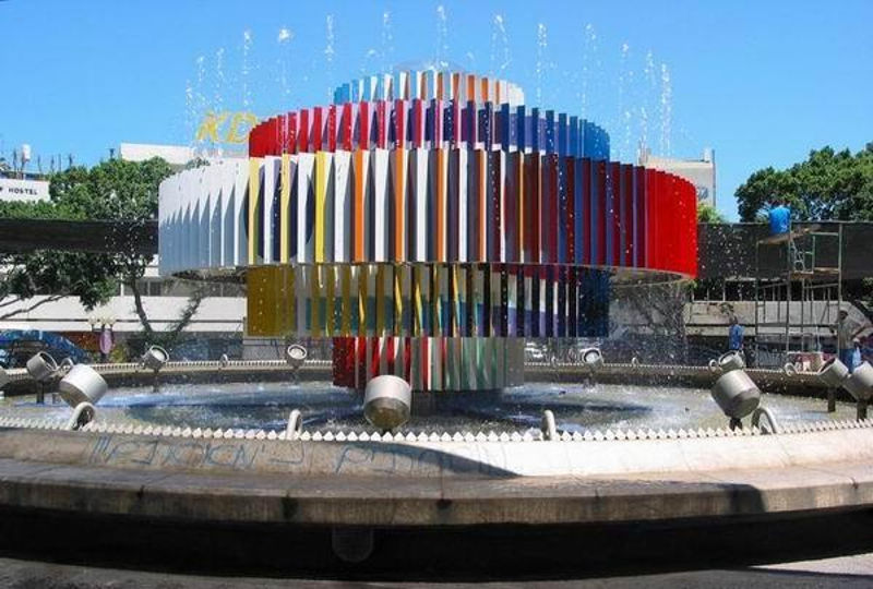 阿加姆音乐喷泉——全方位的视听盛宴