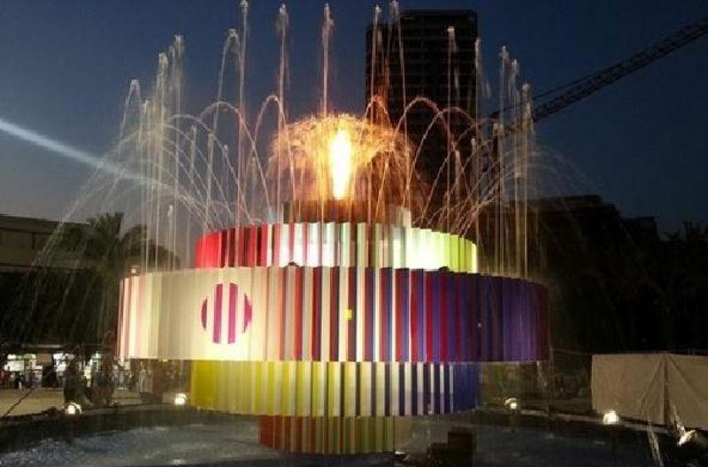 <b>阿加姆音乐喷泉——全方位的视听盛宴</b>