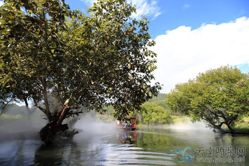 腾冲和顺湿地公园雾化工程设计施工