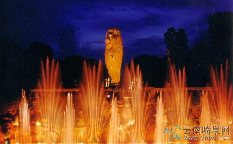 最美音乐喷泉排行—新加坡圣淘沙音乐喷泉