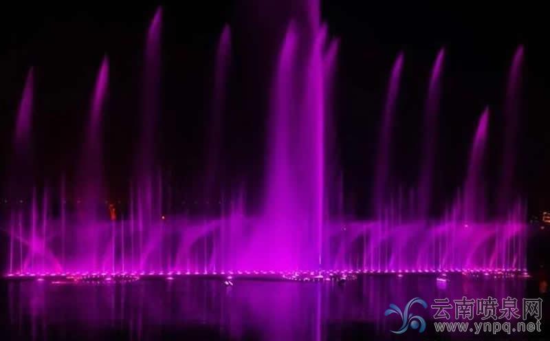 三门峡新增一处音乐喷泉——秦人码头音乐