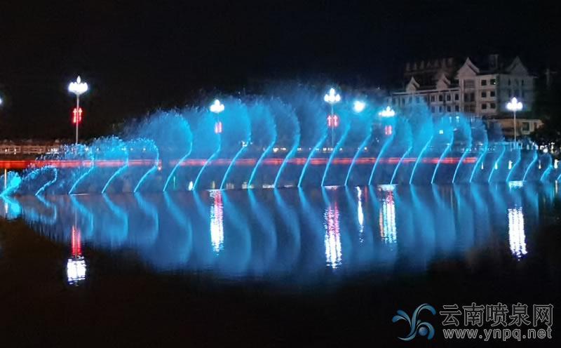 孟连县二维数控音乐喷泉工程
