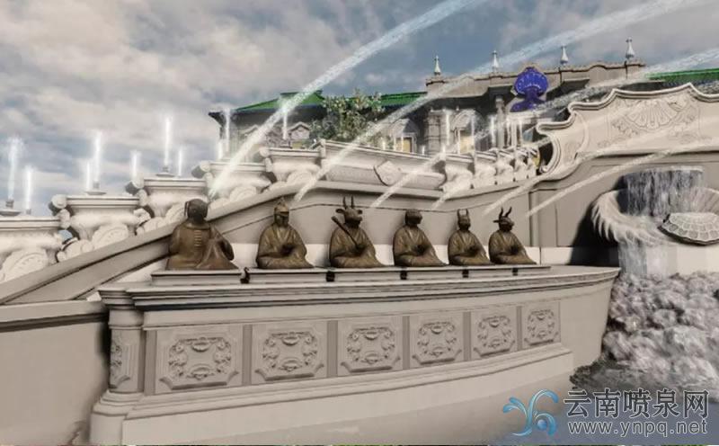 喷泉在中国和西方的起源和发展简述
