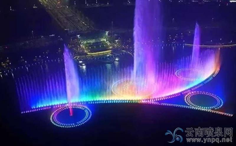 大型音乐喷泉的工作及控制原理-云南喷泉公司