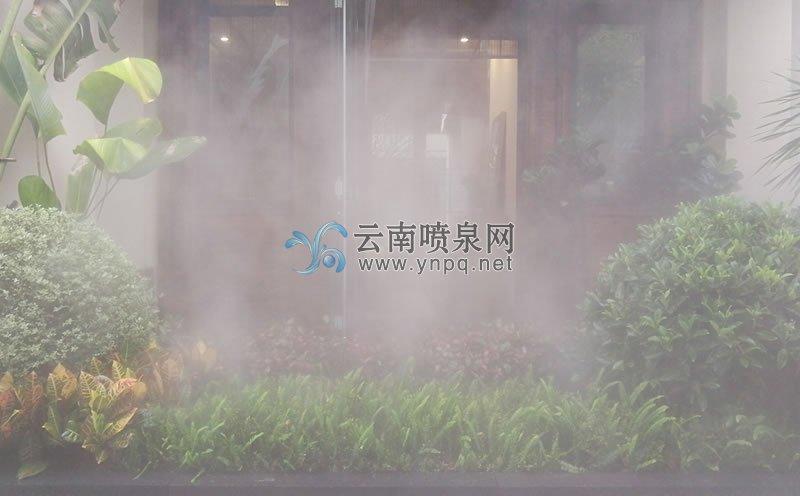雾化工程-西双版纳万达度假区多处高压冷雾工程